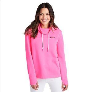 Vineyard Vines pink pullover sheep shirt